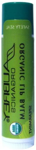 Treat em right organic lip balm - Spearmint Aubrey Organics