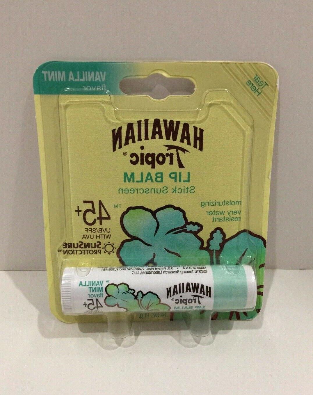 lip balm vanilla mint 14 oz new