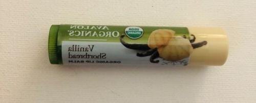 lip balm vanilla shortbread new paraben free