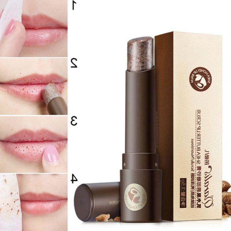 2018 Lip Scrub Balm Lips Gentle Exfoliating Skin