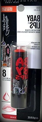 Maybelline Baby Lips 100 Year Anniversary Limited Edition Mo