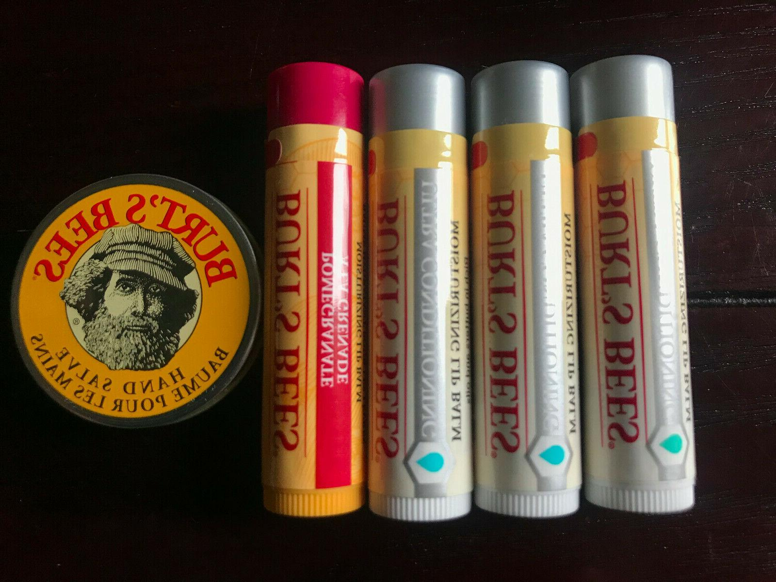 lot of 5 burt s bees products