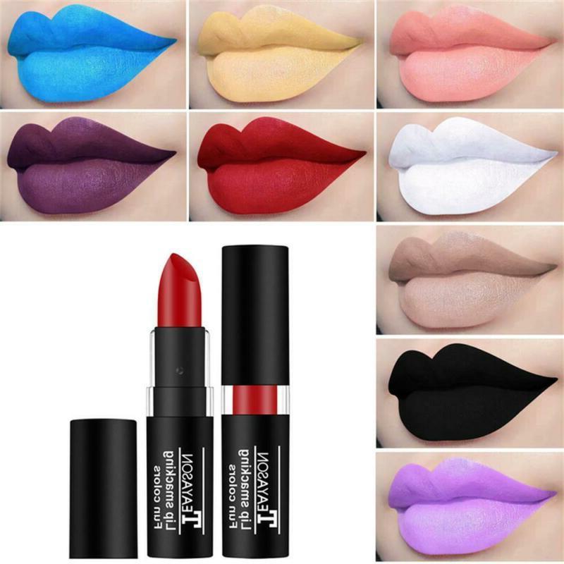 luxury waterproof lip balm velvet matte lipstick