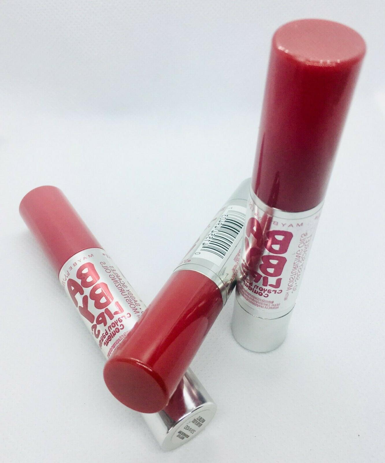 maybelline baby lips color balm crayon 30