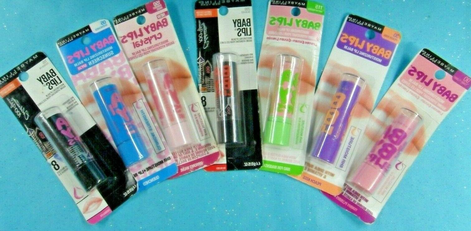 maybelline baby lips moisturizing lip balm spf20