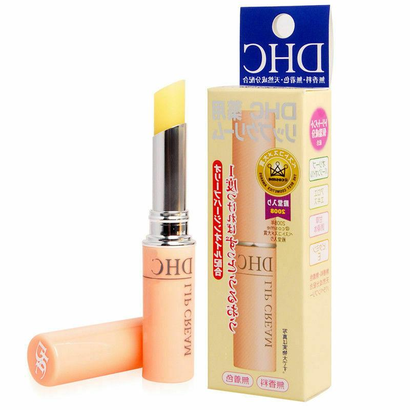 DHC Medicated Lip Cream Balm Olive Oil 1.5 g. Free Shipping