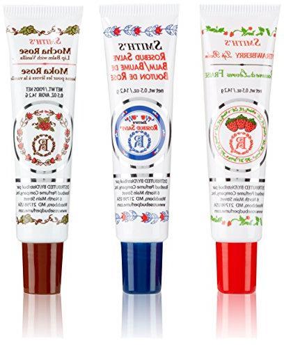 medley lip balm tubes