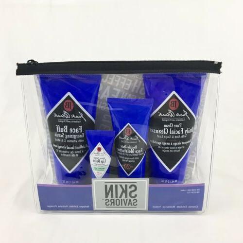 mens skin saviors set cleanser moisturizer face