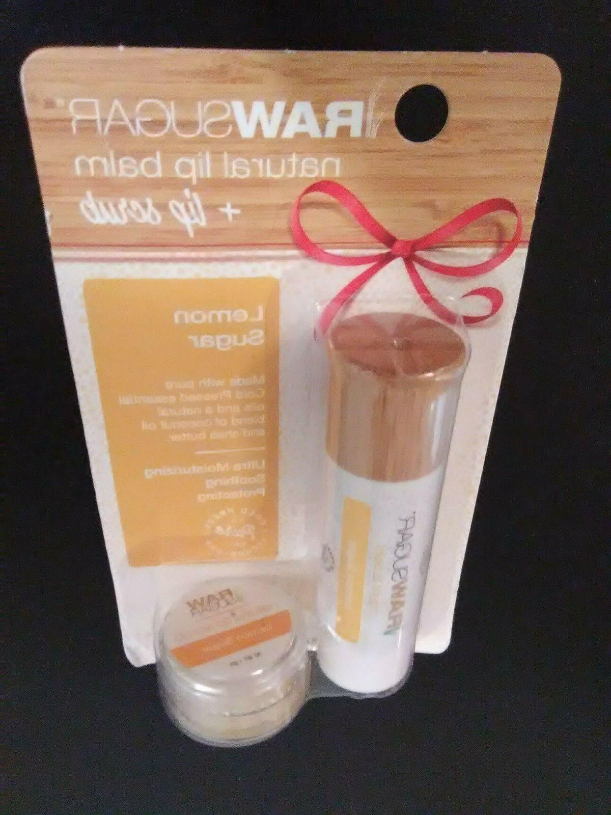Raw Natural Lip Balm Bonus Pack Lemon