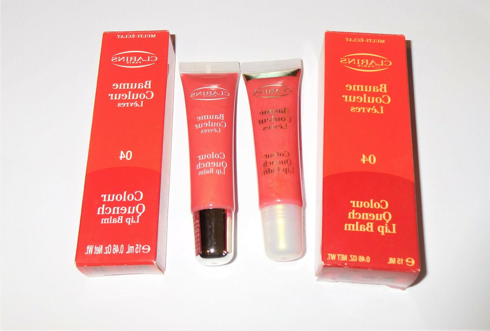 new lot 2 colour quench lip balm