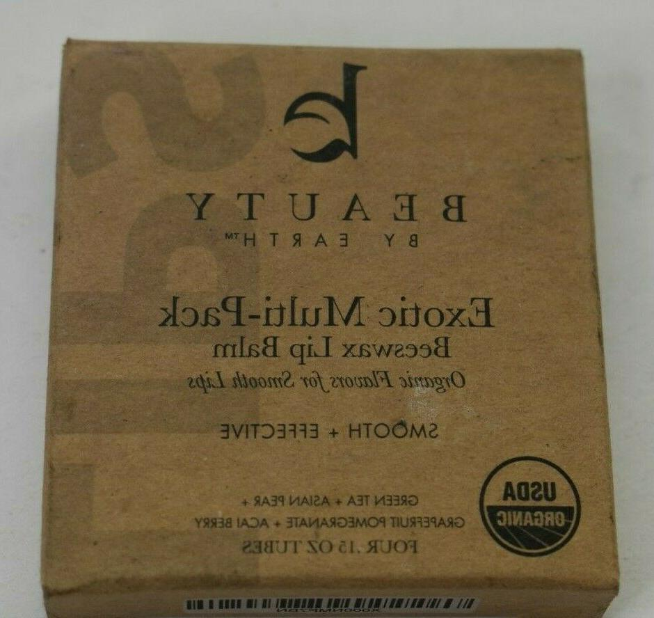 NEW Lot of 4 Beauty By Earth Multi-Pack Beeswax Smooth
