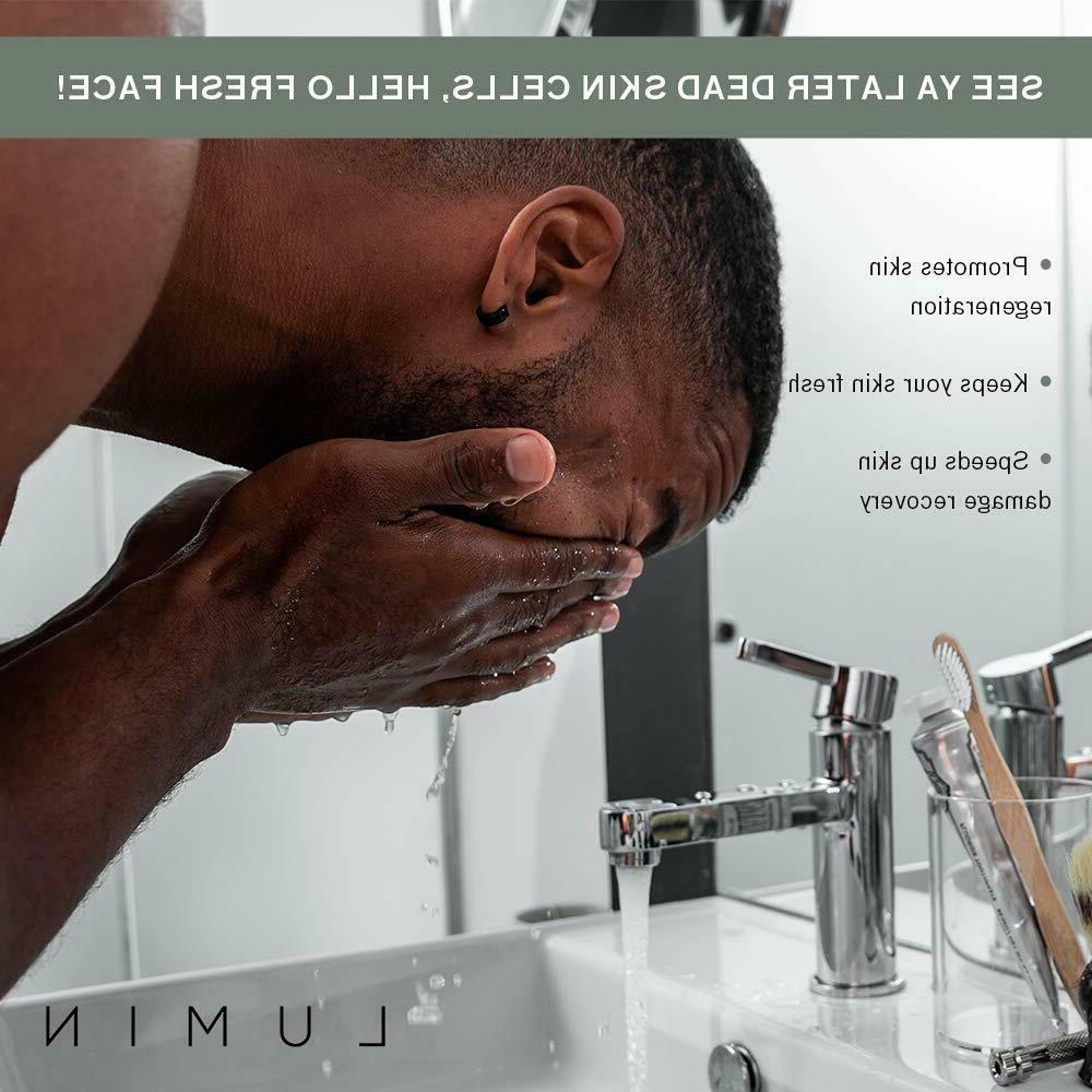 NEW Lumin Balm Skin Exfoliating Rub Charcoal Cleanser