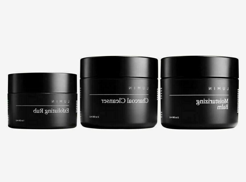 new moisturizing balm skin exfoliating rub charcoal