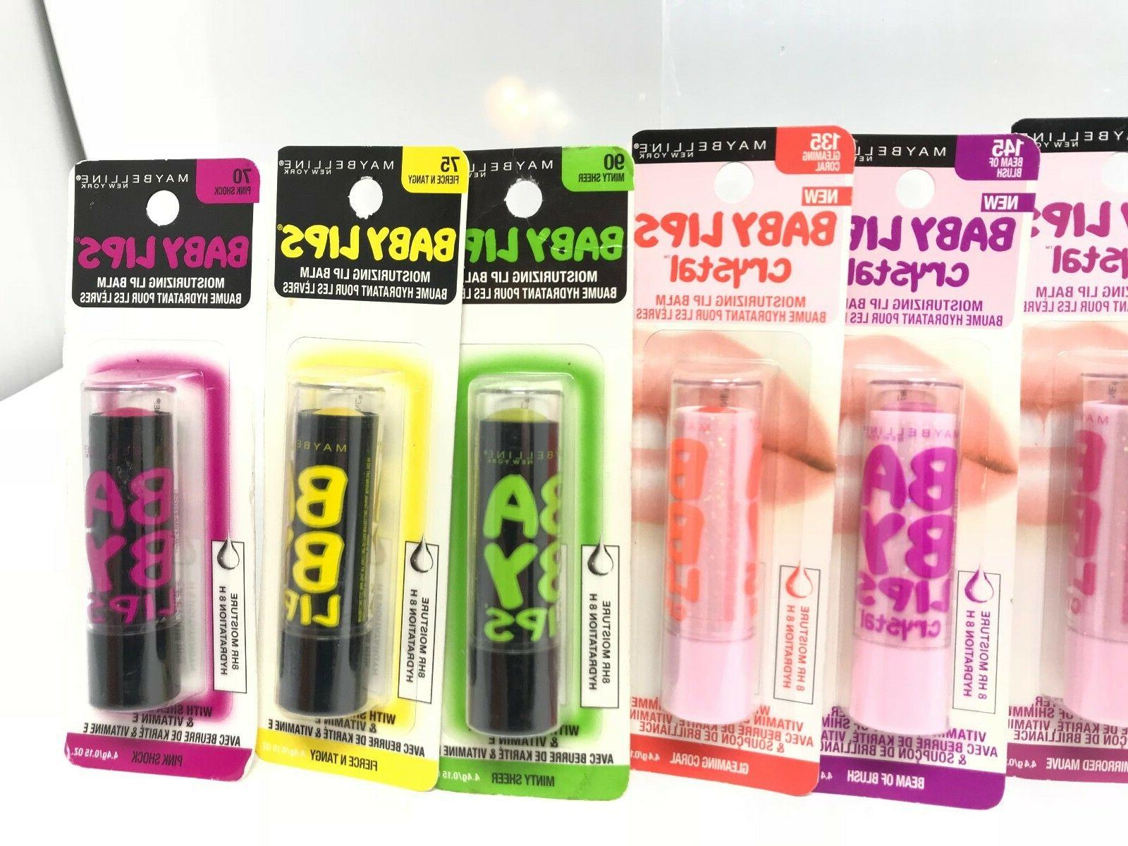NEW Maybelline Lips Moisturizing Lip Balm You