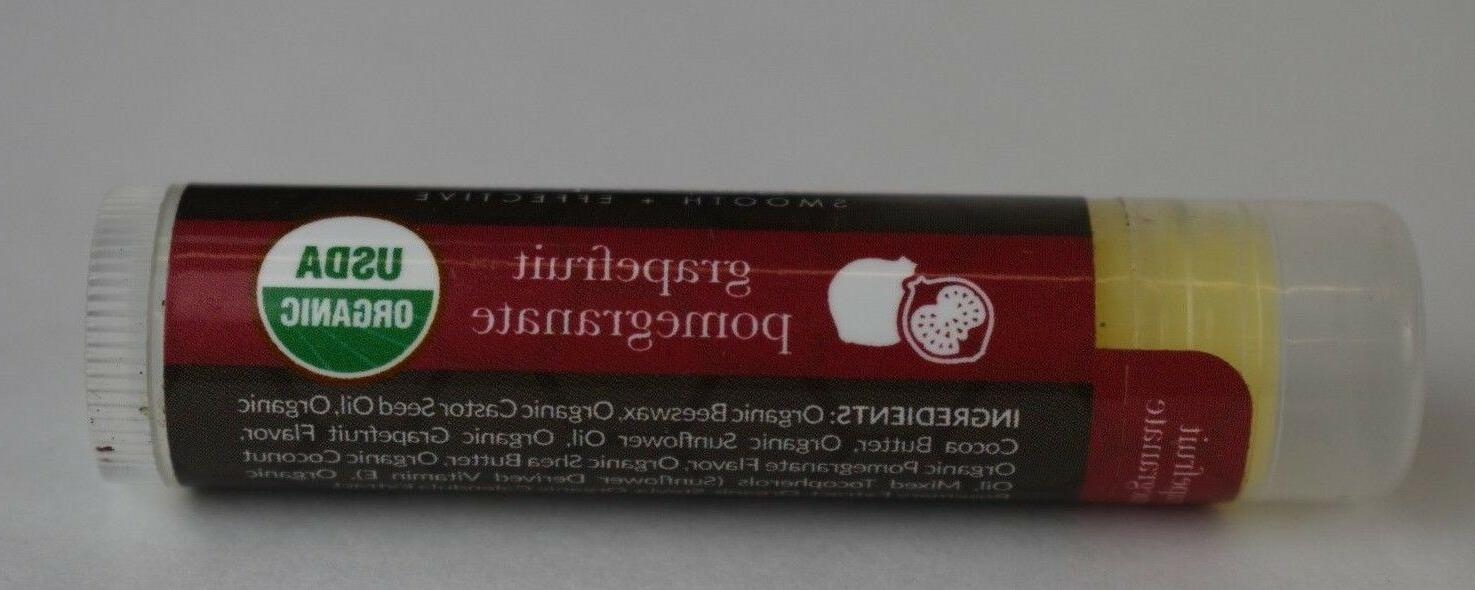 NEW Earth Organic Lip oz each Scents of