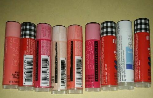 8 Lip Mixed picked at Random Chapstick Sealed