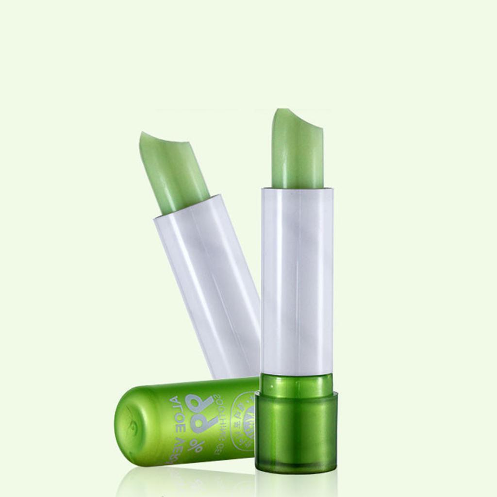 NEW Womens Aloe Vera Discolored Lip Balm Moisture