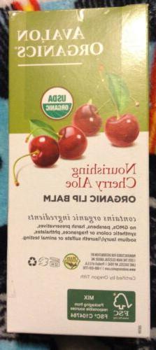 Avalon Organics Nourishing Cherry Lip Balm Pack Of 24 Pcs