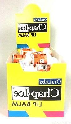 Ora Labs Mini Chap Ice Lip Balm Orange 50 Pack by Ora Labs