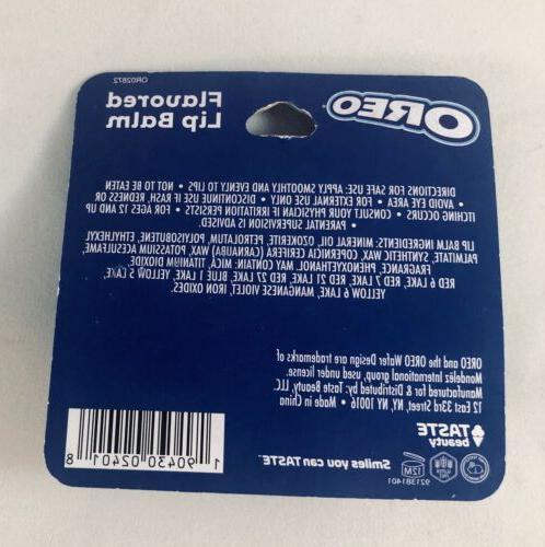Taste Beauty OREO Flavored Lip Balm New In package