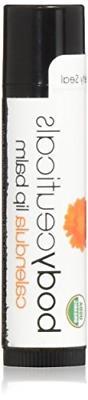 BodyCeuticals Organic Calendula Unflavored Lip Balm Stick, 0
