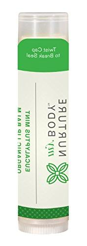 Nurture My Body Organic Lip Balm - 100% Organic and Natural