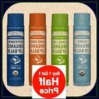 Buy 1 Get 1 50% Off!  Dr. Bronner's Organic Lip Balm 4 Flavo