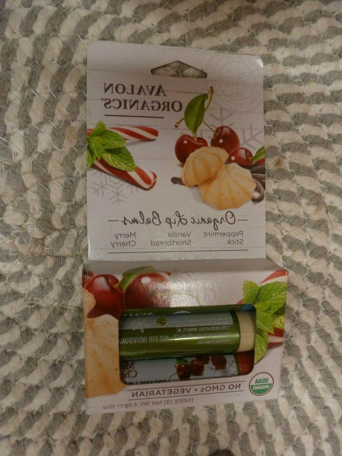 organic lip balms 3 pack 15 oz