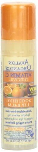 Avalon Organics Lip Balm Vtmn C Spf18