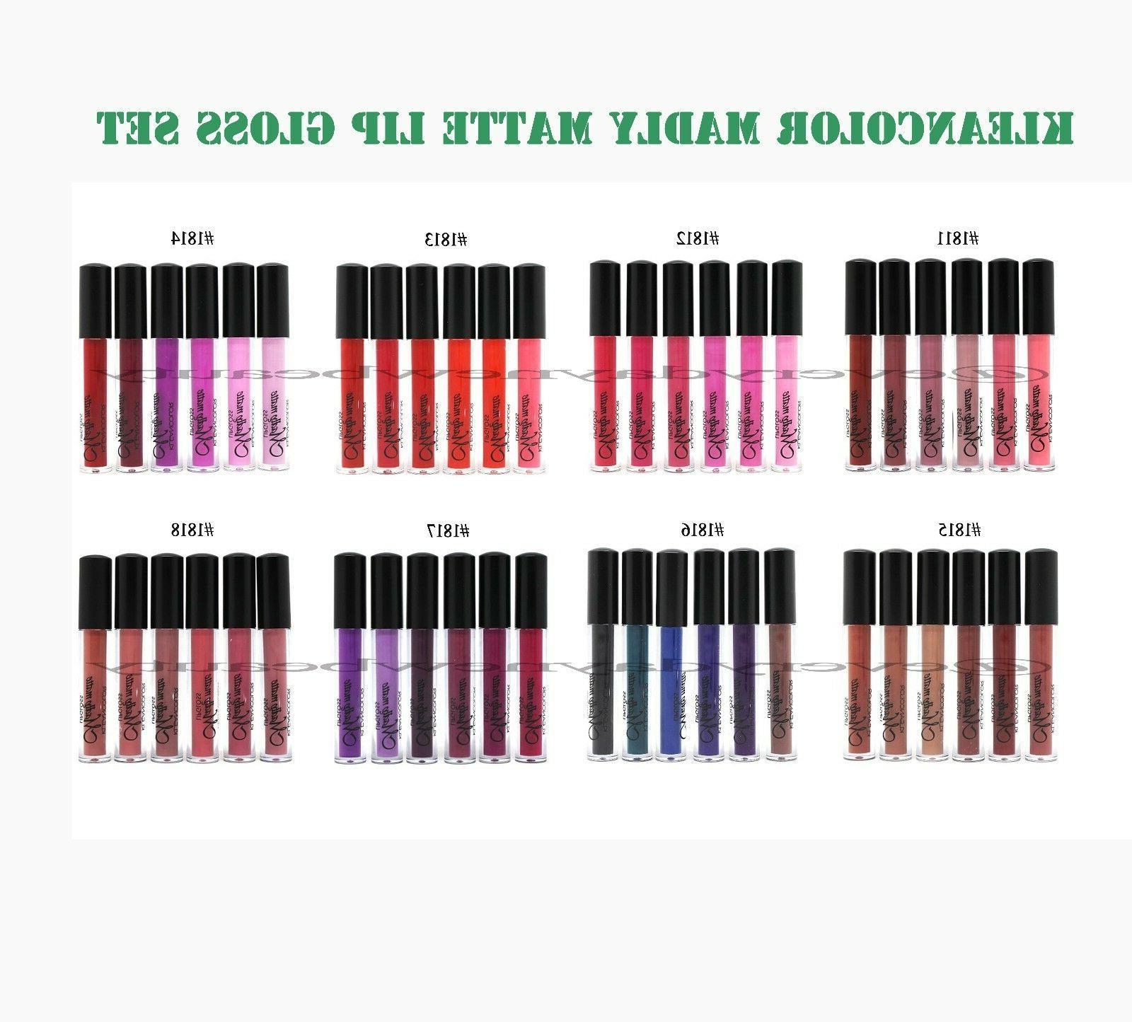 Kleancolor Madly Matte Liquid Lip gloss Lipstick