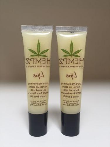 HEMPZ Pure Herbal Extract Lips Ultra Moisturizing Herbal Lip