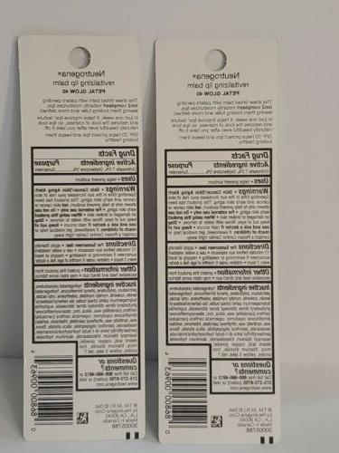 neutrogena Revitalizing Lip Balm SPF 20 Fresh lot