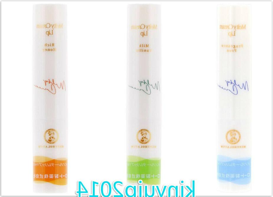 rohto melty lip cream stick balm spf25