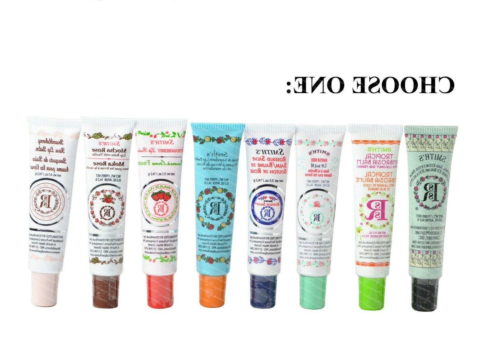 rosebud smith s lip balm salve tube