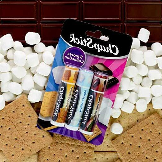 ChapStick S'Mores Collection Skin Protectant Lip Balm, 0.15