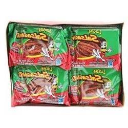 Lucas Salsagheti Watermelon Flavor, 0.85 oz, 24 package box
