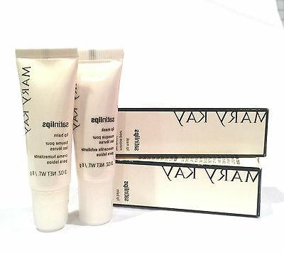MARY KAY SATIN LIPS SET~NIB~SATIN LIP BALM AND SCRUB MASK~DI