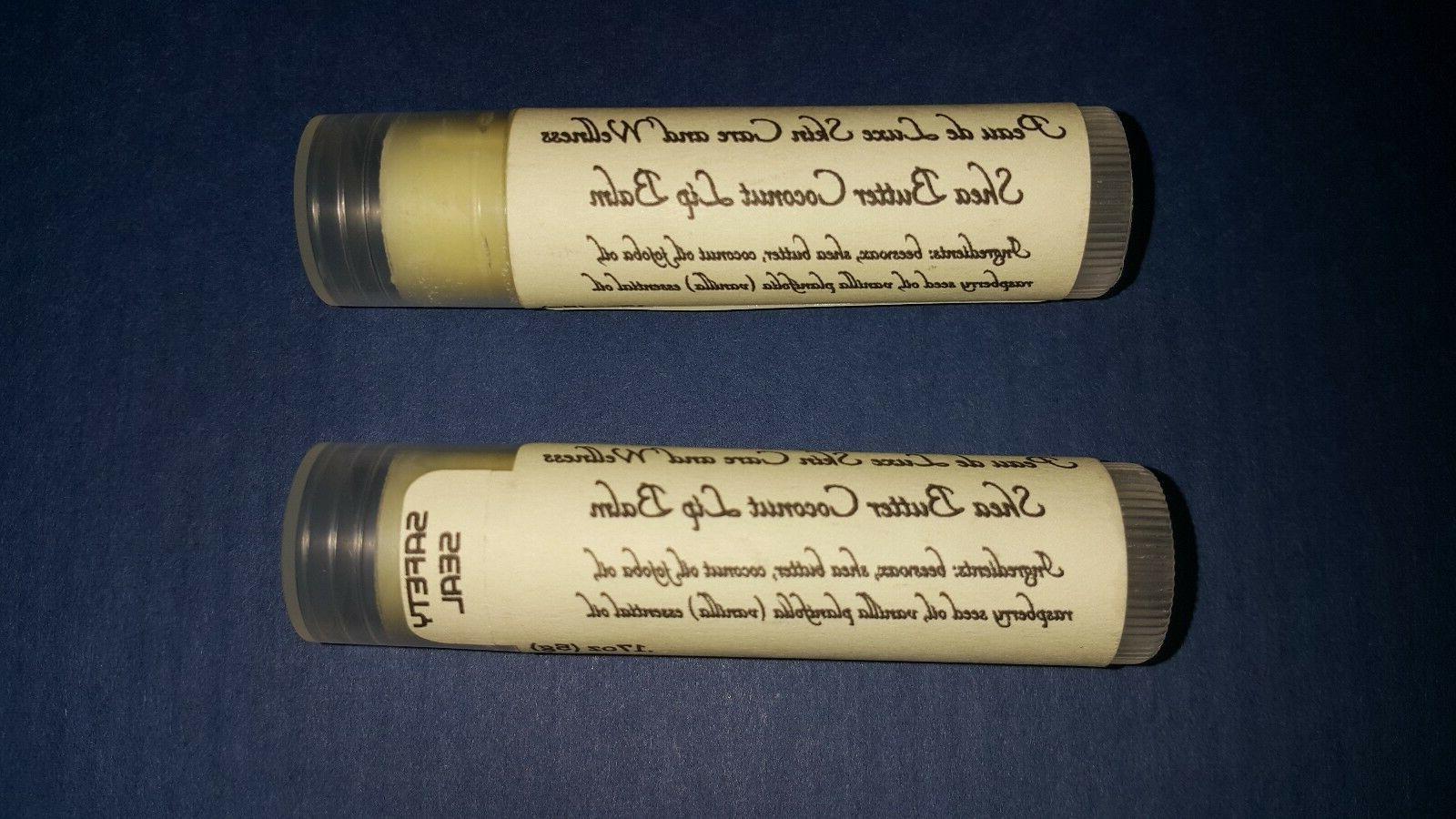 shea butter coconut lip balm by peau