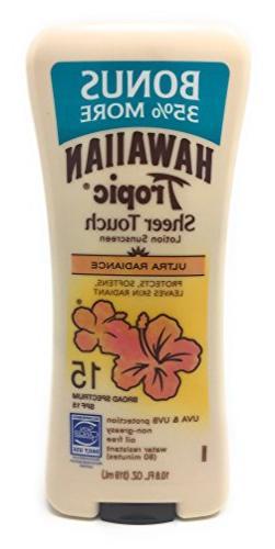 Hawaiian Tropic Sheer Touch Broad Spectrum SPF15 10.8oz