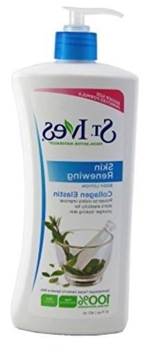 St. Ives Skin Renewing Body Lotion Collagen Elastin 21 oz