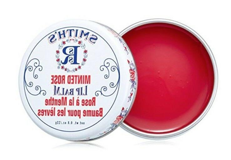 smith s minted rose lip balm 0