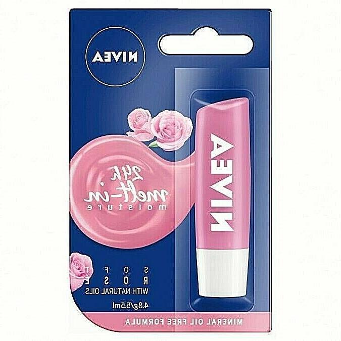 Soft Rose Nivea Lip Balm Intensive Moisture & Soft Rosy Shin
