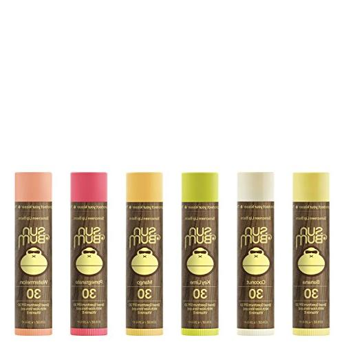Sun Bum Sunscreen Lip 0.15 Count, Broad Protection, Hypoallergenic, Gluten Free, Vegan