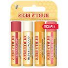 Burt's Bees Superfruit Lip Balm, Tube Purse Wax .15oz 4/PACK