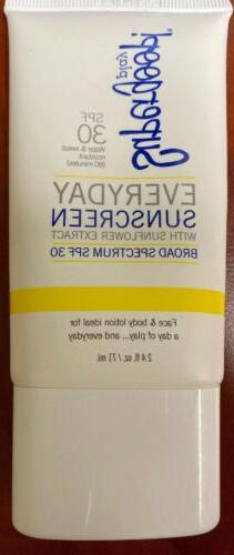 SUPERGOOP !  Everyday Sunscreen SPF 30. Sealed. 2.4 oz. Exp.