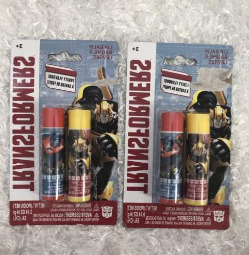 transformers lip balm bubble gum raspberry 2