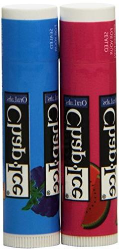 Chap Ice Variety Pack of 2 Flavors Lip Balm Stick, 24-Count