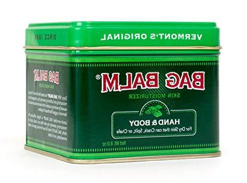 Vermont's Original Cracked, Dry Skin, Moisturizing Ounce 1 Ounce Tin, Mega Soap, Lip