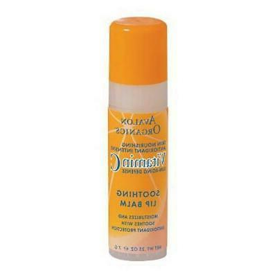 vitamin c soothing lip balm case of