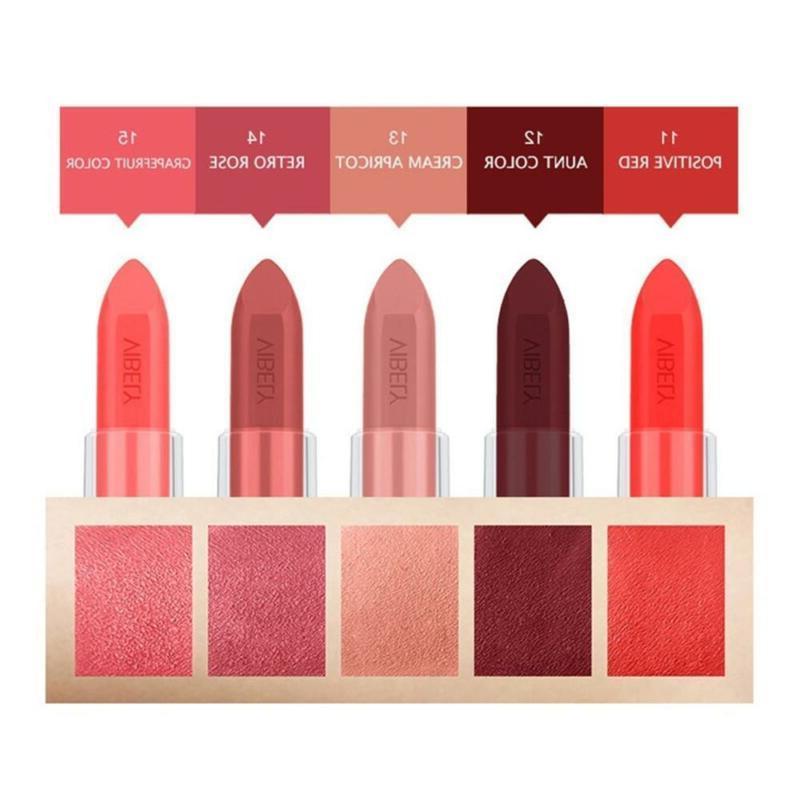 Waterproof Pigment Lipstick Moisturizing Lip Balm Gloss